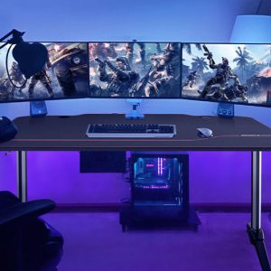 AuAg 55″ Gaming Computer Desk
