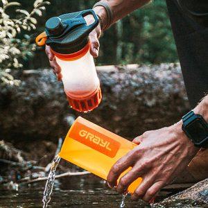 GeoPress Water Purifying Water Bottle