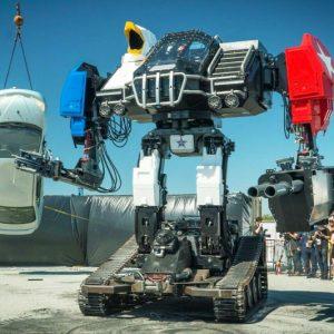 Giant Manned Battle Robot