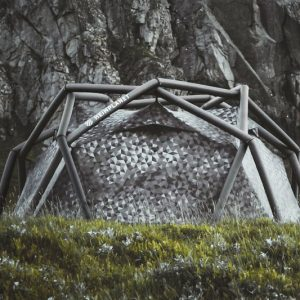Heimplanet Black Cairo Camo Cave Tent