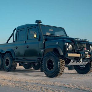 Land Rover Black Mamba 6×6 SUV