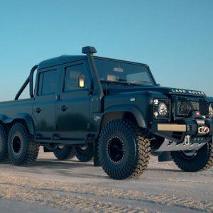 Land Rover Black Mamba 6×6 SUV