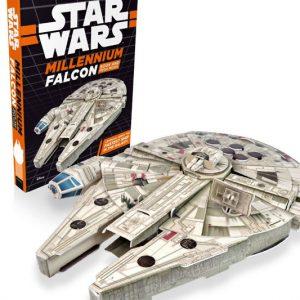 Millennium Falcon Book & Mega Model