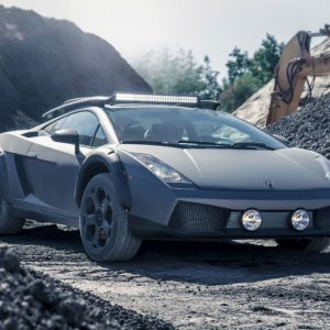 Off-Road Capable Lamborghini Gallardo