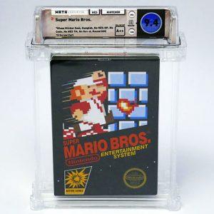 Original Sealed Super Mario Bros Game