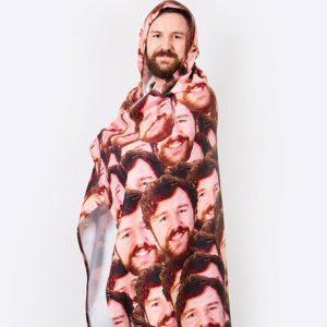 Personalized Hoodie Blanket