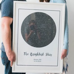 Personalized Night Sky Print