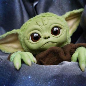 Realistic Baby Yoda Doll