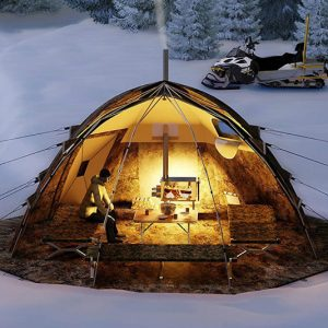 Russian-Bear Hot Tent