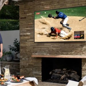 Samsung Weatherproof QLED 4K UHD TV