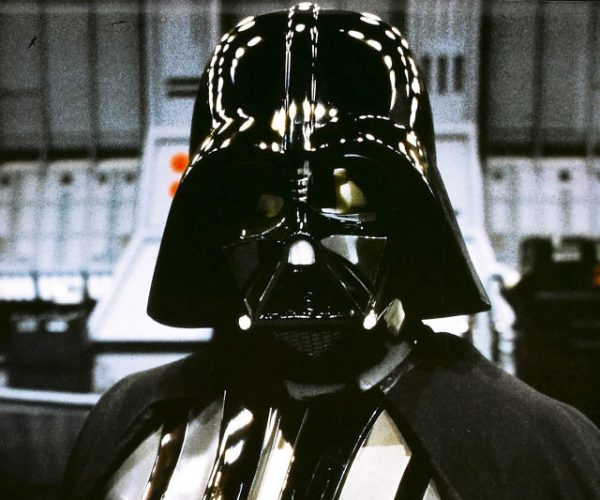 Screen Worn Darth Vader Helmet