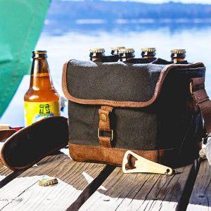 Six Pack Beer Cooler Tote