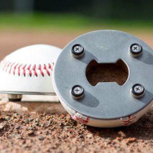Baseball Bottle Opener