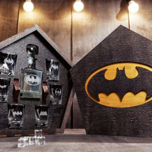 Batman Whiskey Decanter Set