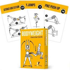 Bodyweight Exercise Cards