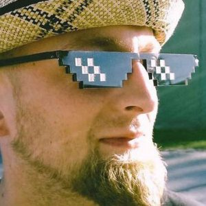 Deal With It Pixelated Sunglasses