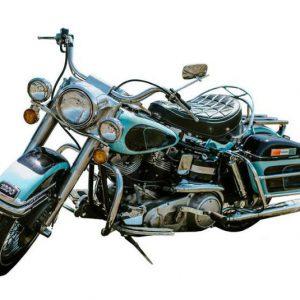 Elvis Presley's Harley-Davidson
