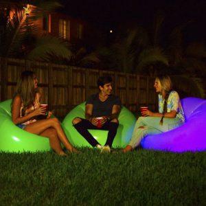 Illuminated Inflatable Chairs