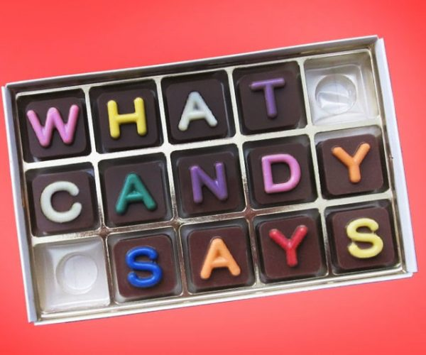 Personalized Chocolate Messages