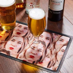 Personalized Face Bar Runner