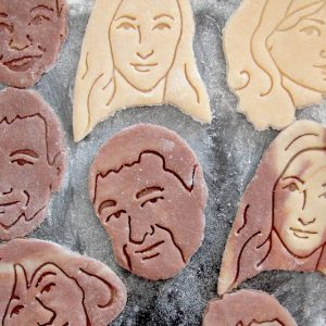 Personalized Face Cookie Cutter