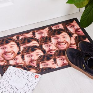 Personalized Face Doormat