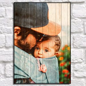 Personalized Wooden Pallet Photos