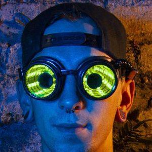 Programmable LED Glasses