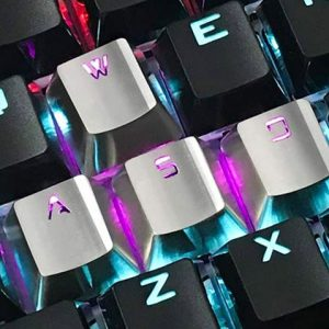 Stainless Steel Keycaps