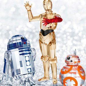 Swarovski Crystal Star Wars Sculptures