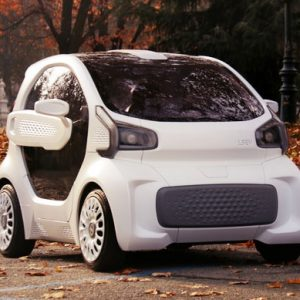 The 3D Printed Electric Car
