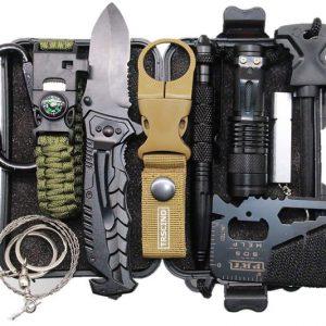 11-In-1 Survival Gear Kit