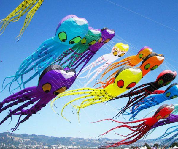 Giant Octopus Kites