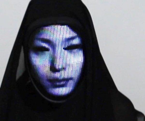 LED Face Changing Mask