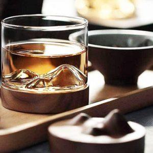 Mountain Peak Whisky Glass