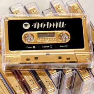 Personalized Spotify Playlist Cassette