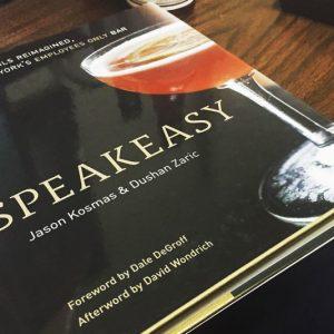 Speakeasy Cocktail Book