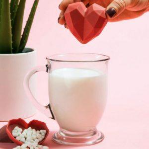 Strawberries & Cream Hot Cocoa Bomb