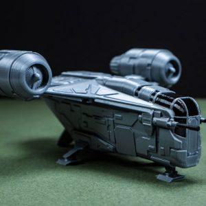 The Mandalorian Razor Crest Spaceship
