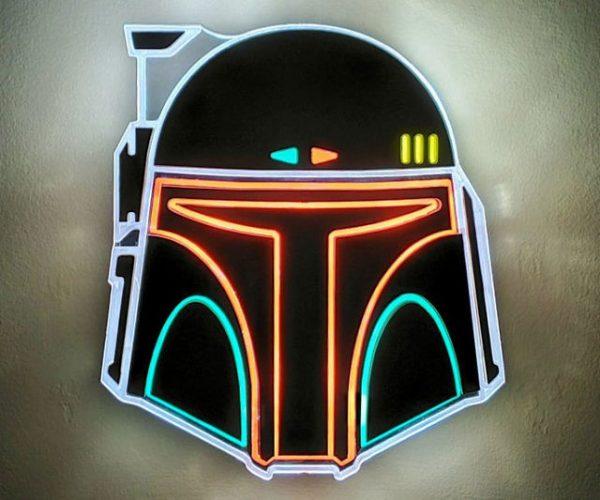 Boba Fett Neon Sign