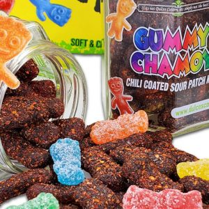 Chili Coated Sour Patch Gummies
