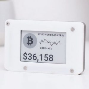 Real Time Crypto Ticker Display