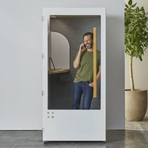 Soundproof Privacy Booths