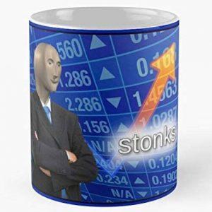 Stonks Coffee Mug