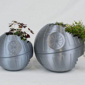 3D Printed Death Star Planter