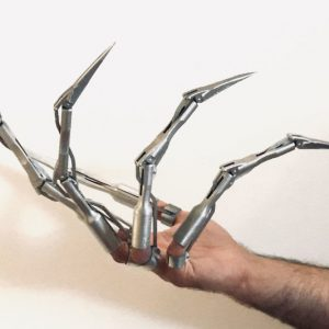 Articulated Skeleton Finger Extensions