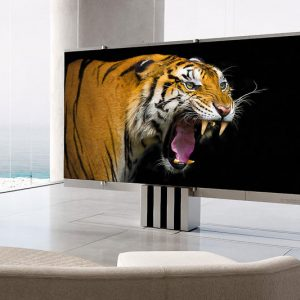 M1 4K Retractable MicroLED TV