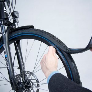 Modular Bicycle Zip-On Tire System