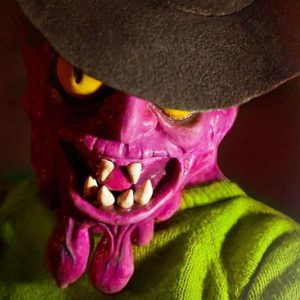 Scary Terry Silicone Mask