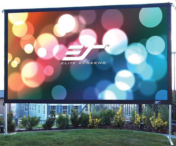 100″ Foldable Outdoor Projection Screen